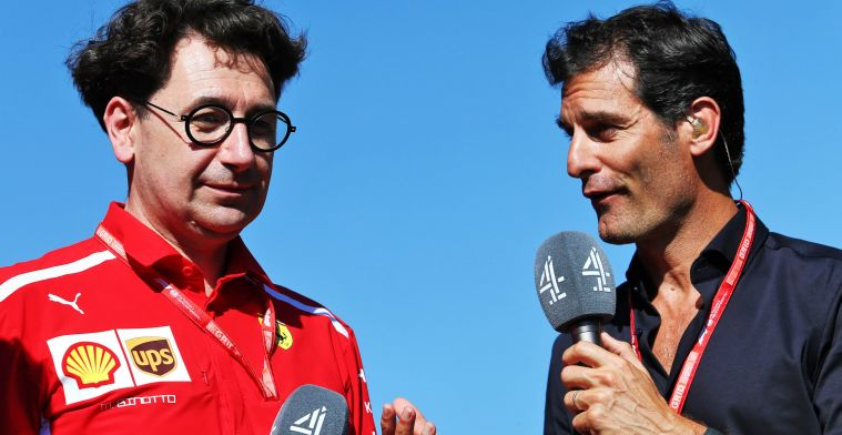Webber doesn't understand anything about Ferrari: ''This is the second chance''