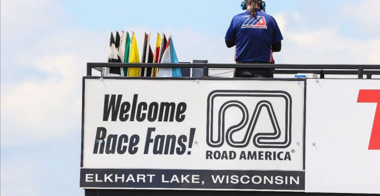 American motorsport season is in full swing and this weekend even with spectators