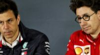 Image: Binotto not served comments Wolff: ''Mercedes always has an opinion''
