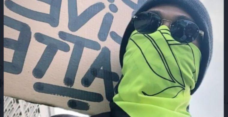 Hamilton doet nieuwe oproep en gaat de straat op in Londen voor Black Lives Matter