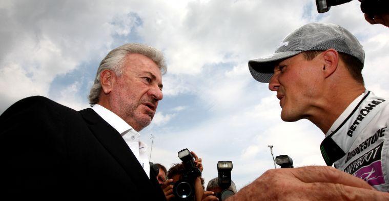 Oud manager Schumacher: Ik heb hier veel spijt van, het raakt me heel hard