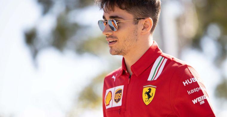 Leclerc gaat de nieuwe Schumacher worden bij Ferrari
