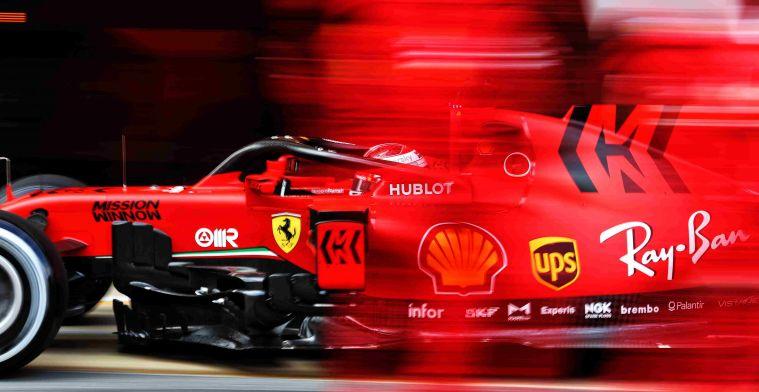 'Ferrari denies update of 15 hp for engine in Austria'