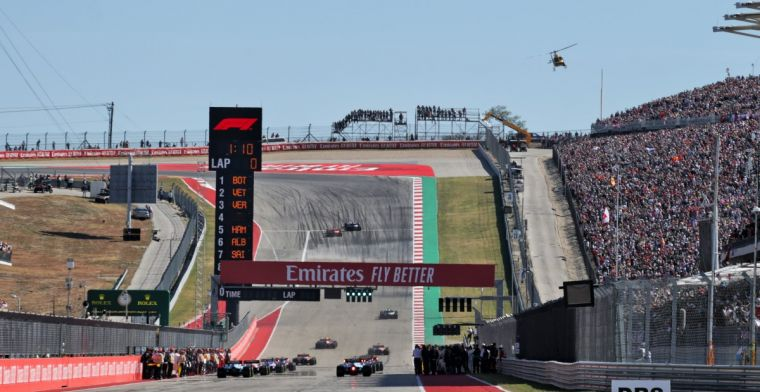 United States Grand Prix keeps hope: We assume that F1 will come