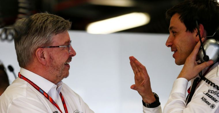 Brawn to Mercedes: You assume you'll always win