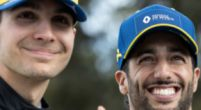 Afbeelding: Ocon en Ricciardo proberen zich optimaal voor te bereiden op GP van Portugal