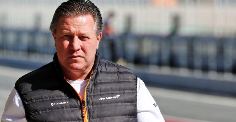 Zak Brown: McLaren heeft geen financiële problemen meer