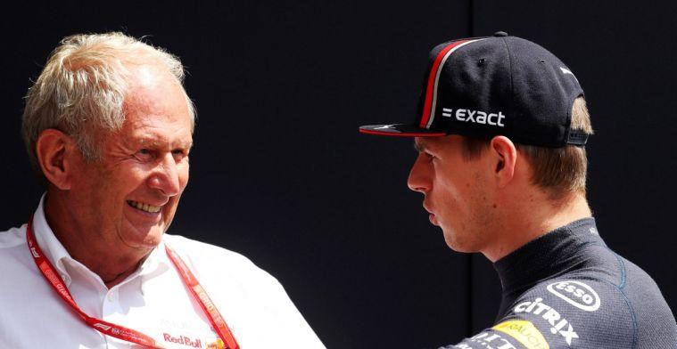 Marko: 'Verstappen gaat echt niet harder rijden van geschreeuw Nederlandse fans'