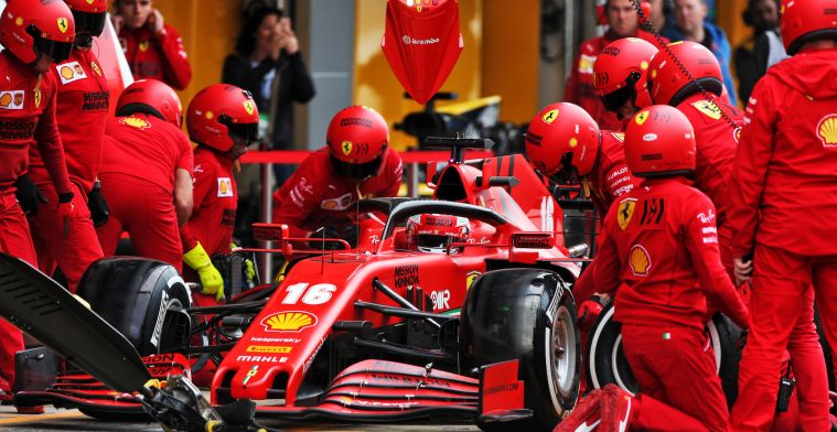 In Italy, even before the engine has started, there is a slight panic