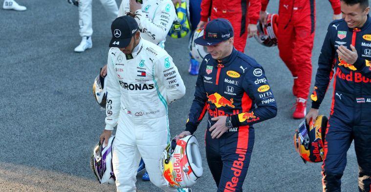 Column: Met Verstappen en Hamilton krijgen we in 2020 weer een echte titelstrijd