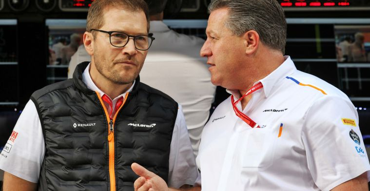Seidl: Never doubted that McLaren wouldn't be on the grid in 2021