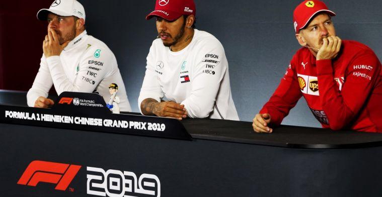 All drivers present at press conference GP Austria