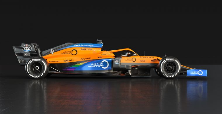 McLaren comes with an update to the livery