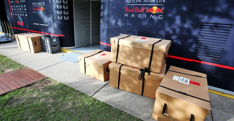 Will Red Bull Racing be short of parts for the Grands Prix?