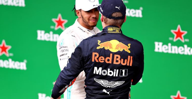 Hamilton fears Red Bull Racing and Verstappen: He gets better every year