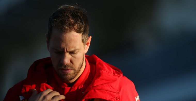 Vettel compleet verrast dat Ferrari hem niet eens een contract aanbood