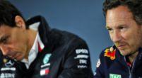 Afbeelding: Horner geeft Mercedes geen rust: ''Er zullen snel vragen komen over DAS''