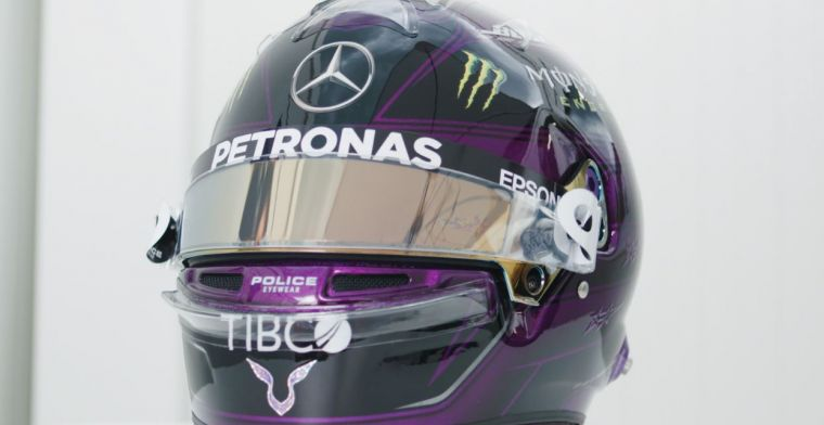 F1 Social Stint | Hamilton also rides with a black helmet in 2020