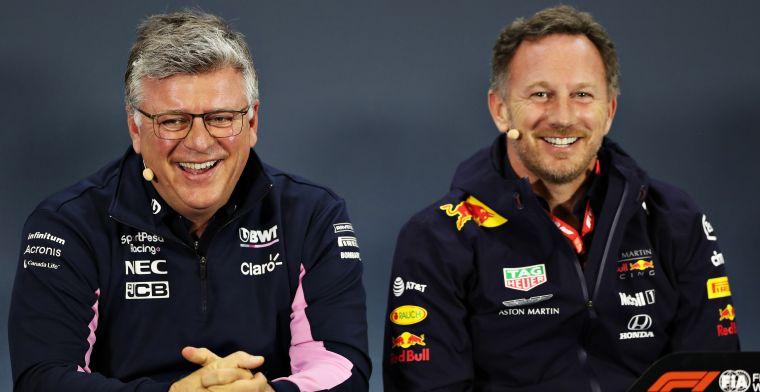 Racing Point herhaalt: Zijn overgestapt van Red Bull-filosofie naar Mercedes
