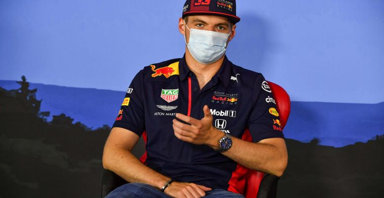 Verstappen: It's important to drive many laps after such a long break.