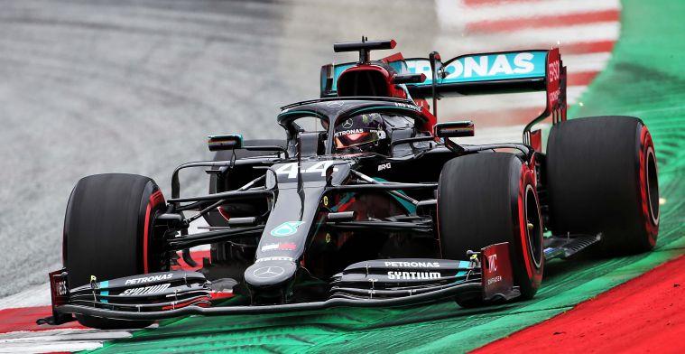 UITSLAG VT2 Oostenrijk: Mercedes opnieuw 1-2, Red Bull in middenveld