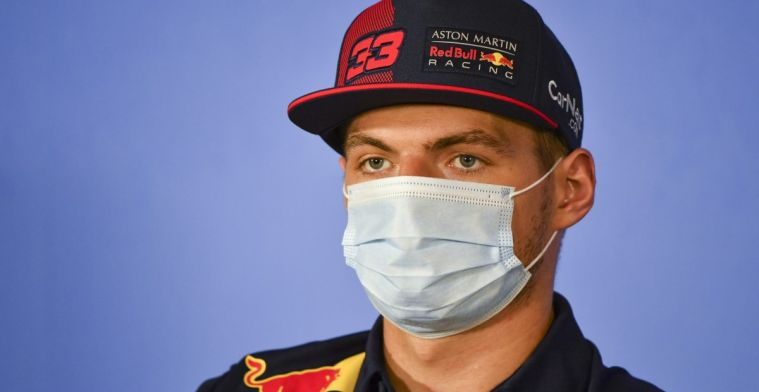 Verstappen doesn't go along with negativity: I don't worry about that