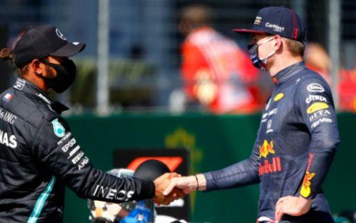 Verstappen and Hamilton react to slow Ferrari: