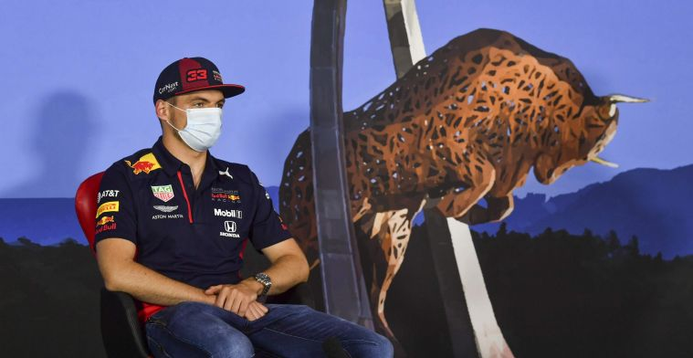 Verstappen: It doesn't really bother me