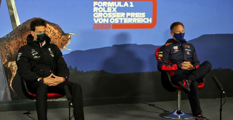 Wolff happy with 'sporting' timing of protest Red Bull Racing