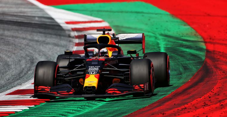 Verstappen glad to be starting on the mediums after qualifying third in Austria