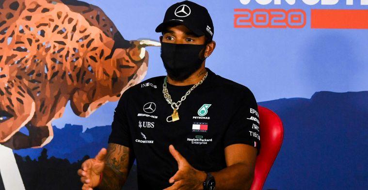 Hamilton angry at the media: They keep writing, stop making shit up