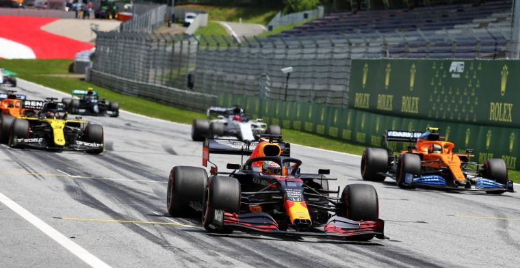 Verstappen surprised by high top speed Mercedes: Won't be easy