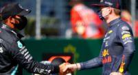 """Afbeelding: Verstappen reageert op Ferrari: """"Dat moet je aan hen vragen, ik rijd met Honda"""""""