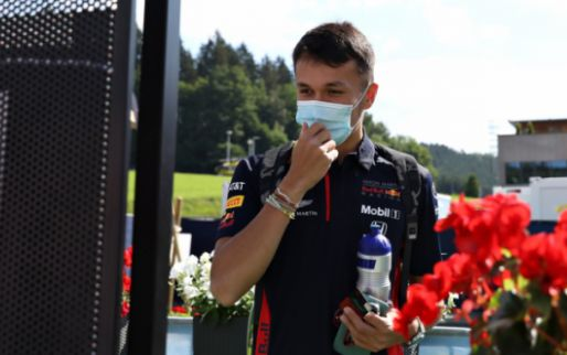 Albon not happy after the race: