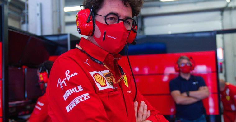 Binotto kritisch: Dat was geen goede actie, maar dat weet Vettel zelf ook wel