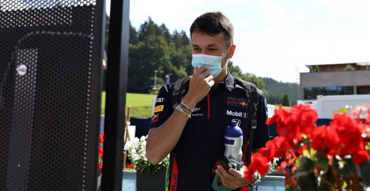 Albon not happy after the race: I have to be careful what I say now...