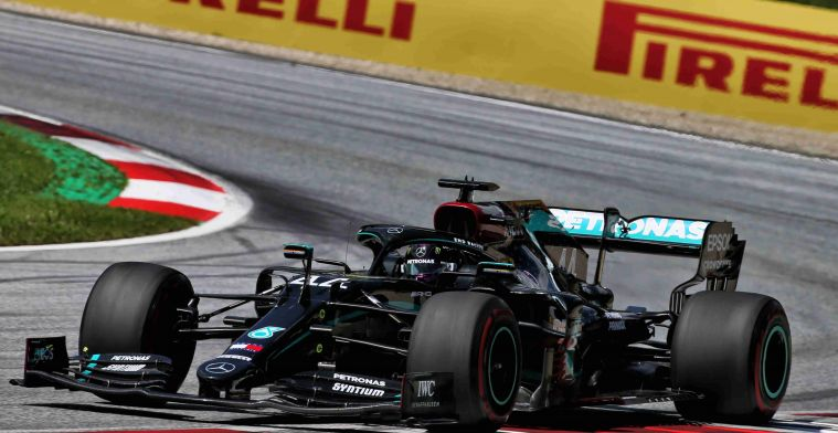 Mercedes not without problems: Had problems with that from the start