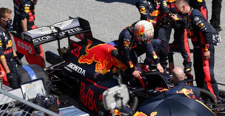WK-stand: Verstappen moet meteen in de achtervolging op Mercedes