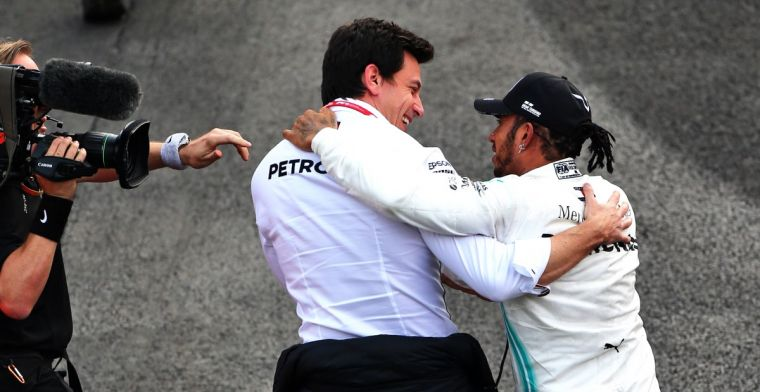 Wolff asks media to stop 'making up sh*t' about contract Hamilton