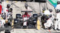 Image: Alfa Romeo punished after incident with Raikkonen's wheel