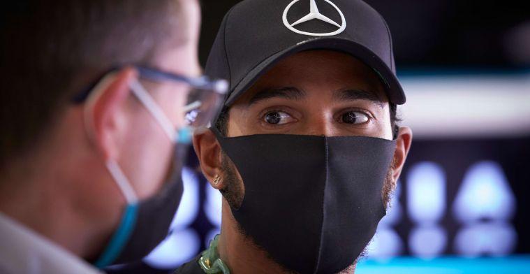 Button ziet problemen bij Hamilton: ''Penalty's namen de overhand''
