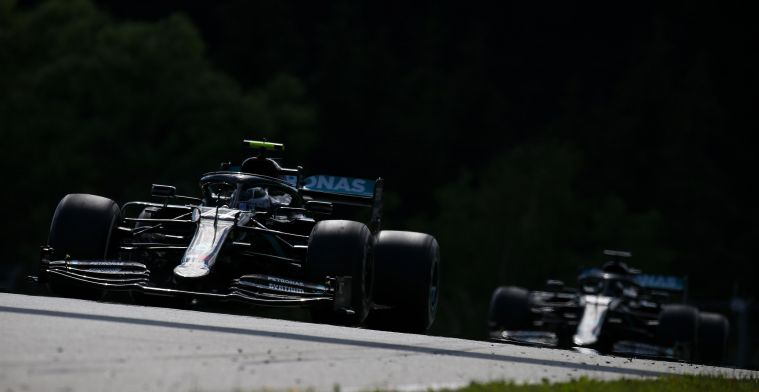 Bottas had to take care of his gearbox: I saw Lewis in my mirrors