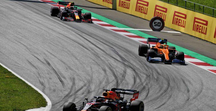 Mega snelle pitstop voor Red Bull en Norris pakt de snelste ronde
