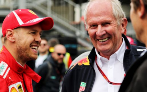 Vettel asked Helmut Marko for advice: ''You'll see the outcome''
