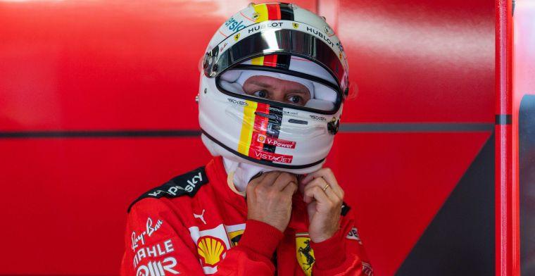 Vettel kan niks met opmerkingen Rosberg: ''Ik kan tegen kritiek''