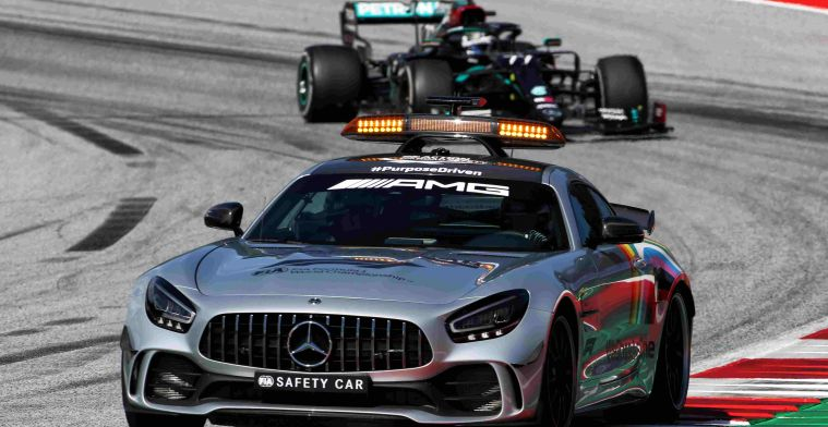 FIA: Safety car presteerde buitengewoon goed in Oostenrijk