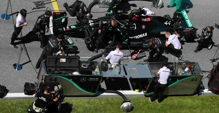Mercedes hints at structural problems W11: Just a question of how soon