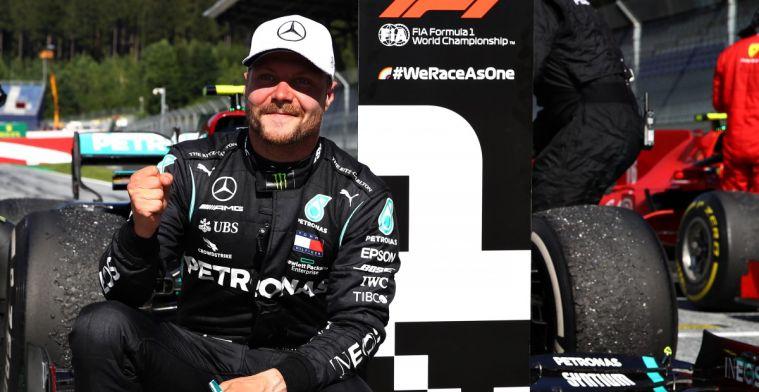 Palmer: Hamilton's tempo moet een zorg zijn voor Bottas