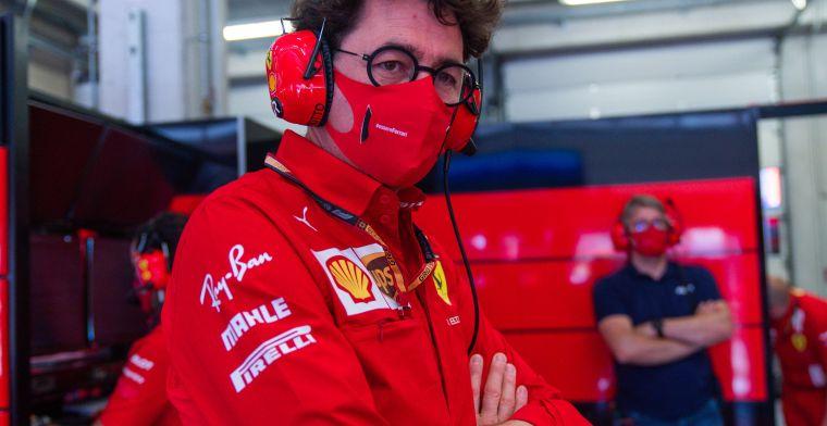 Mol haalt uit naar Ferrari: ''Wat een jankverhaal van Binotto''