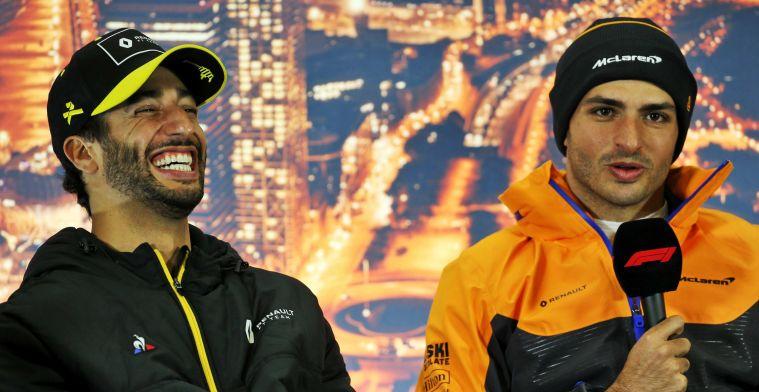 Webber: 'Ricciardo was de logische keuze geweest voor Ferrari, niet Sainz'